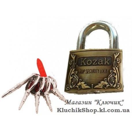 Замок навісний KOZAK ARC-60 AC (60мм)