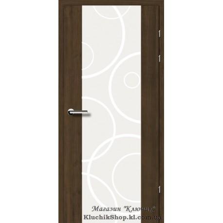 Двері Brama 17.31. Декор мокка