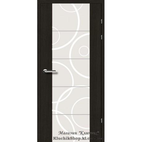 Двері Brama 17.31М. Декор дуб чорний