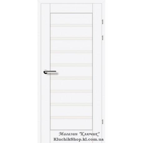 Двері Brama 19.31Е / Лінія дерева / Декор Білий