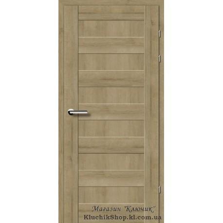 Двері Brama 19.40Е / Евродорс / Декор дуб натуральний