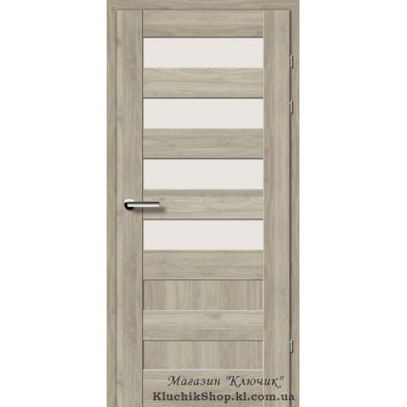 Двері Brama 19.44Е / Евродорс / Декор горіх сірий