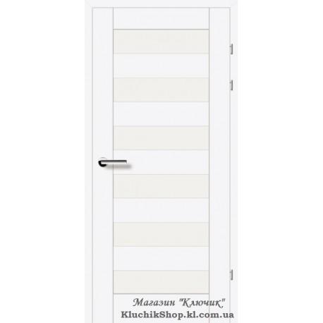 Двері Brama 19.46Е / Лінія дерева / Декор білий