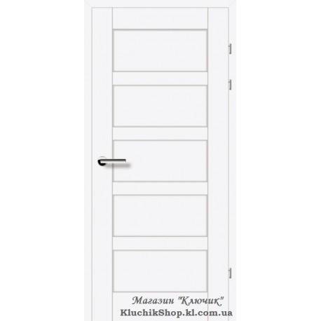 Двері Brama 19.84Е / Лінія дерева / Декор білий