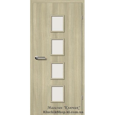 Двері Brama 2.54 / Лінія дерева / Декор в'яз скандинавський