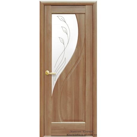Двері Новий стиль / Пріма / Декор вільха золота
