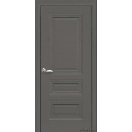 Двері Статус / Суцільні / Декор антрацит