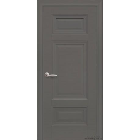 Двері Шарм / Суцільні / Декор антрацит