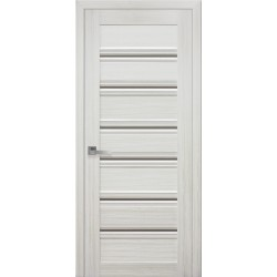 Двері Венеція С1 / Скло бронза / Декор перлина біла / Покриття смарт
