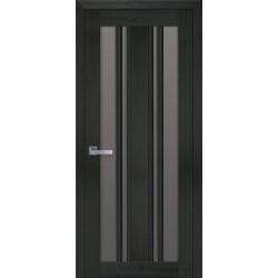 Двері Верона С2 / Скло бронза / Декор перлина кавова / Покриття смарт