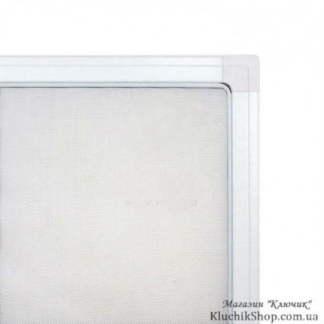 Москитна сітка віконна. Білий профіль.