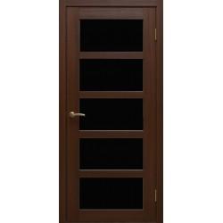 Двері Alegra Ag -5 / Чорне скло