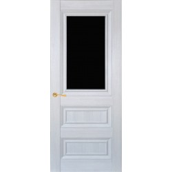Двері CL-2 ПО / Чорне скло