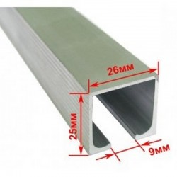 Профіль розсувної системи EKF 120100-02 (2м - 40 кг)