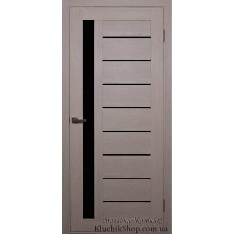 Двері Alegra Ag -3 / Чорне скло