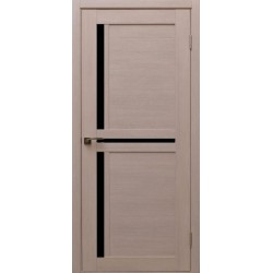 Двері Alegra Ag -11 / Чорне скло