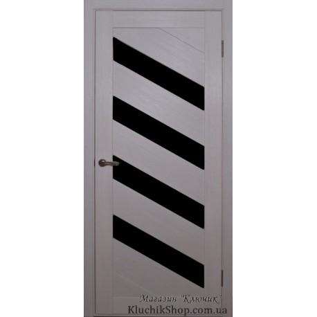 Двері Alegra Ag -2 / Чорне скло