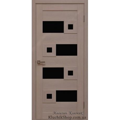 Двері Cs-5.1 / Чорне скло