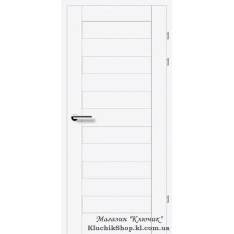 Двері Brama 19.40Е / Лінія дерева / Декор білий