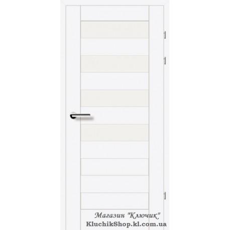 Двері Brama 19.44Е / Лінія дерева / Декор білий