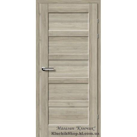 Двері Brama 19.84Е / Евродорс / Декор горіх сірий