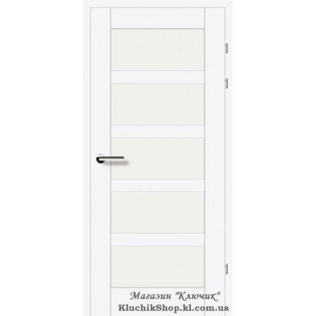 Двері Brama 19.85Е / Лінія дерева / Декор білий