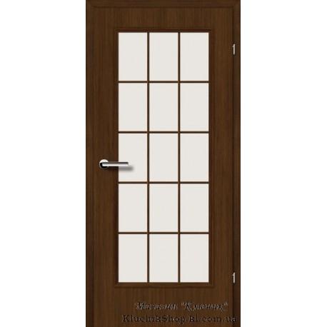 Двері Brama 2.46 / Лінія дерева / Декор горіх карпатський