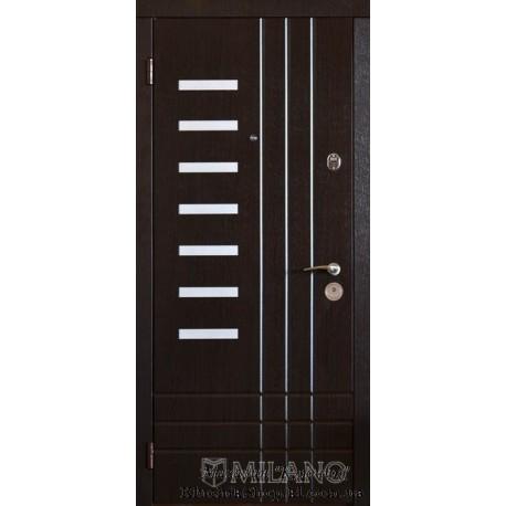 Двері Milano / Alumini / Угол