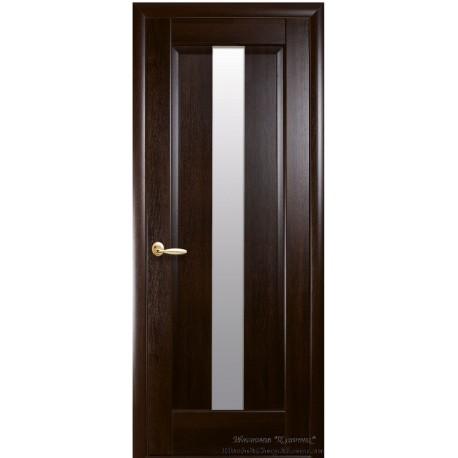 Двері Новий стиль / Прем'єра / Декор каштан
