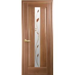 Двері Новий стиль / Прем'єра / Декор вільха золота