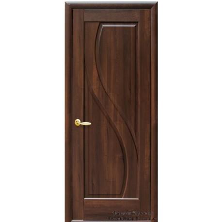 Двері Новий стиль / Пріма / Декор каштан