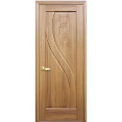 Двері Пріма / Суцільні з гравіюванням