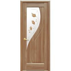 Двері Пріма / Скло сатин та мал. Р1