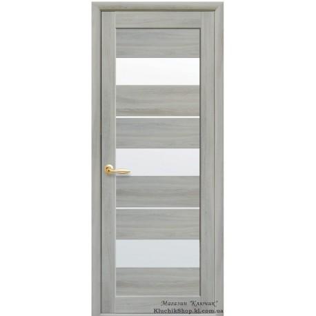 Двері Лілу / Екошпон / Декор ясень патина