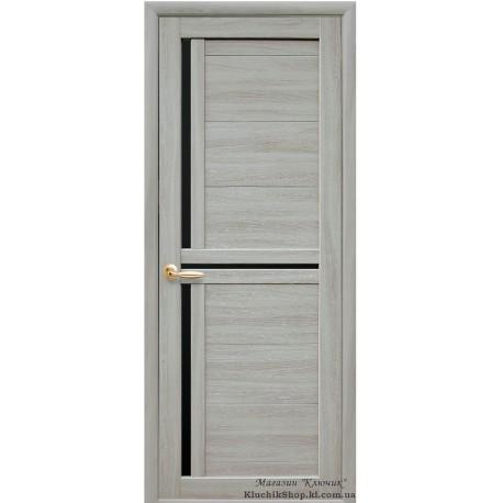 Двері Трініті / Екошпон / Декор ясень патина