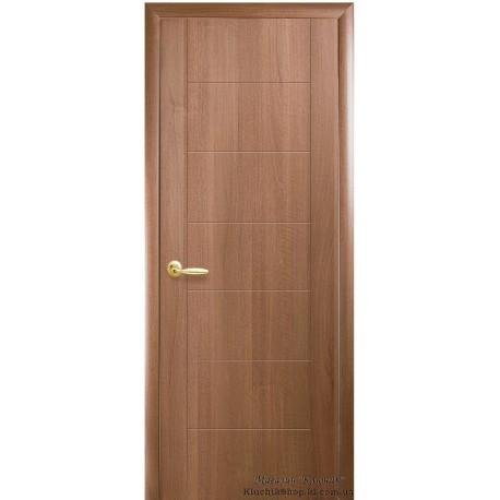 Двері Ріна / ПВХ-Deluxe / Декор вільха золота