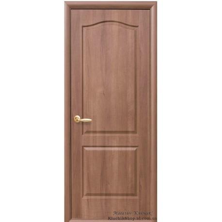 Двері Класік / ПВХ-Deluxe / Декор вільха золота