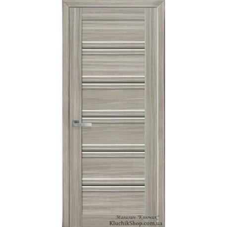 Двері Віченца С1 / Скло бронза / Декор перлина магіка / Покриття смарт