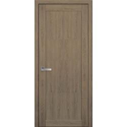Двері Лейла / ПВХ-Ультра / Суцільне / Декор дуб медовий