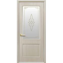 Двері Вілла / Скло сатин та мал. Р1