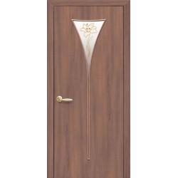 Двері Бора / Екошпон / Декор вільха 3D