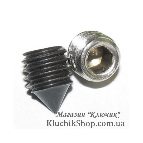 Гуджон (стопорний гвинт) дверної ручки M6 х 12 мм