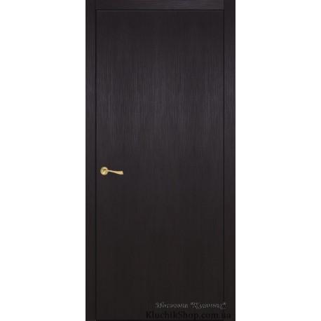 Двері Office / Суцільні / Декор венге