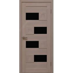 Двері Cs-5 / Чорне скло
