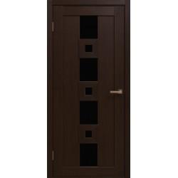 Двері Cs-4 / Чорне скло