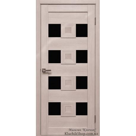 Двері Cs-6 / Чорне скло