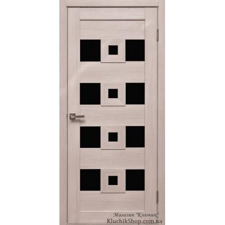 Двері Cs-6.1 / Чорне скло