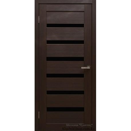 Двері Alegra Ag -6 / Чорне скло