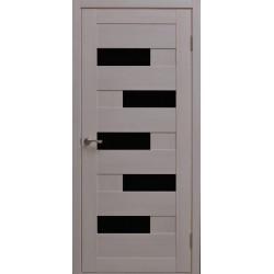 Двері Alegra Ag -7 / Чорне скло