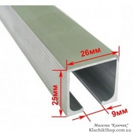 Профіль розсувної системи EKF 120100-02 (3м - 40 кг)
